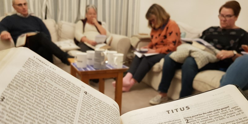 SMALL GROUPS*Our homegroups meet on Zoom, on alternate Mondays and Thursdays. Click below for more info on the groups and what we're looking at this term.*More details